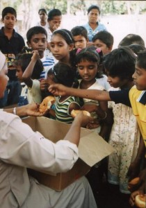 Sri Lanka_bambini mare